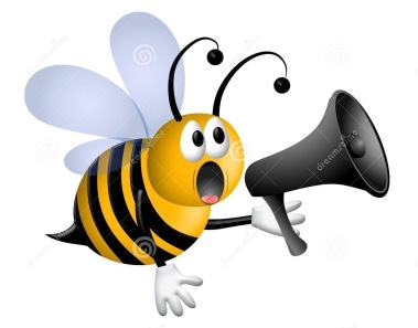 bee-shouting-into-megaphone-royalty-free-stock-images-image-5667299-jjf2iz-clipart