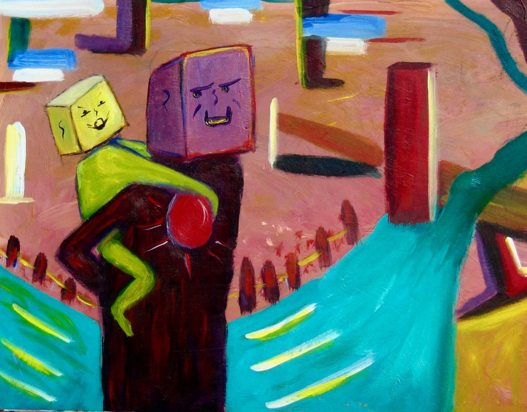 Boxhead Love and Obstacles