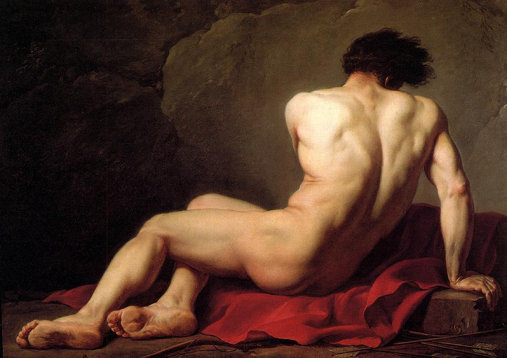 Male Nude known as Patroclus