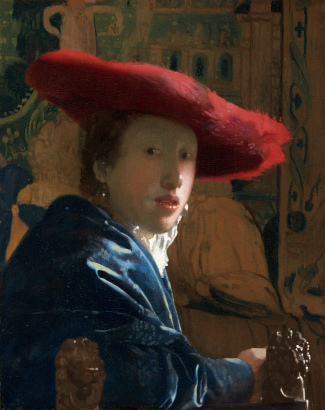Vermeer_-_Girl_with_a_Red_Hat-650x818