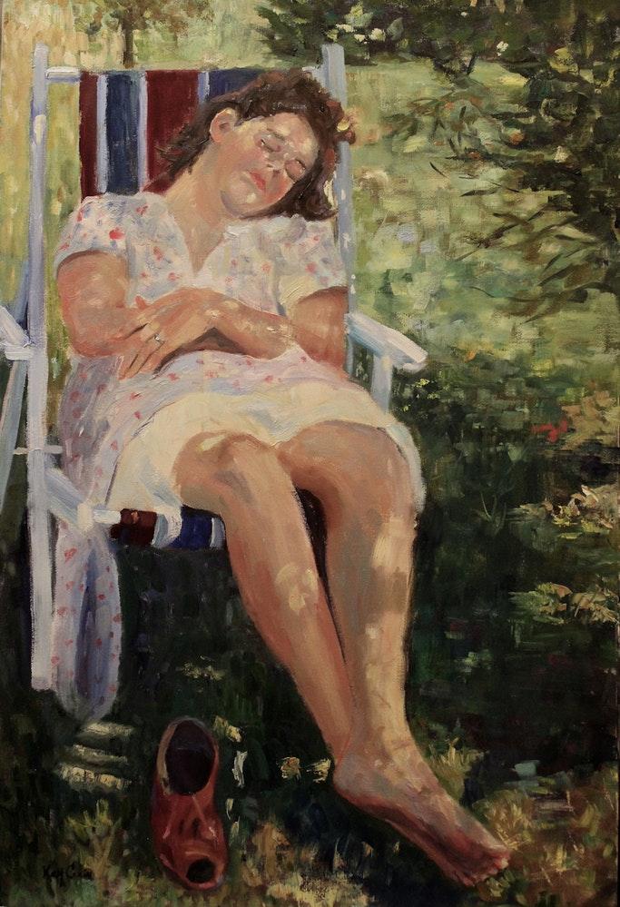 _sun_dappled_dreams__woman_sleeping_
