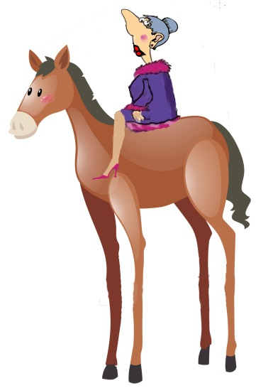 High horse Vivian